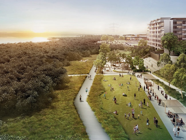 Woolooware Bay promises to be a vibrant new community hub.