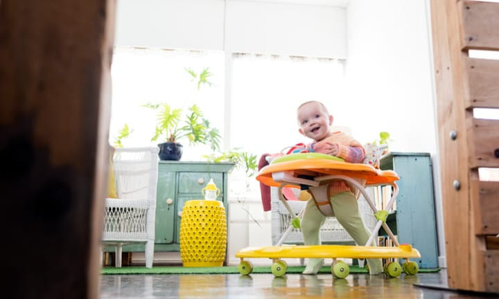 Why paediatricians want baby walkers removed from stores