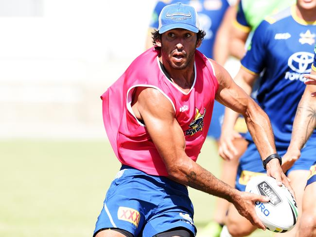 Thurston said his platform as an NRL star has helped him campaign for indigenous Australians. Picture: Zak Simmonds