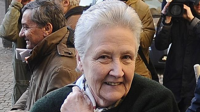 Activist ... Marie Collins, who was abused by a hospital chaplain in Ireland when she was