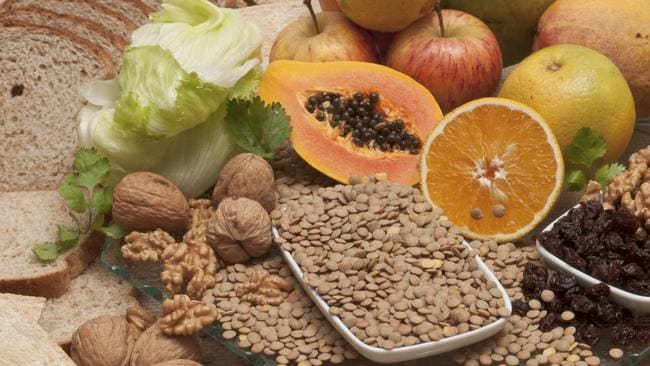 Incorporate more fibre in your diet, such as fruits, vegetables and legumes.