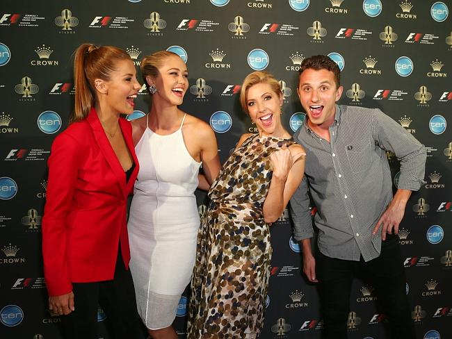 F1 Grand Prix party red carpet pics