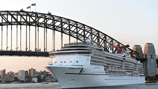 The Carnival Spirit left Sydney nine days ago.