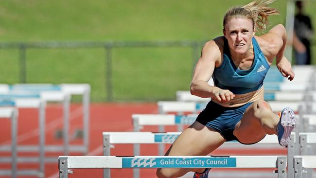 Sally Pearson will be eyeing gold to back up her London performance. Picture: Luke Marsden.
