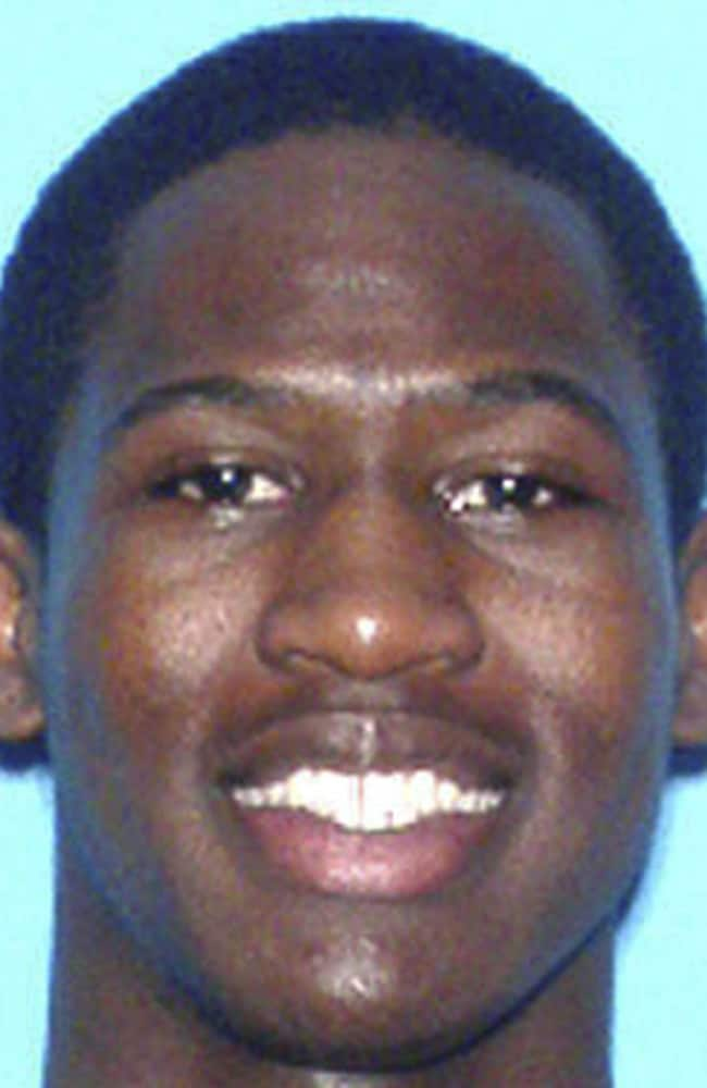 Howell Emanuel Donaldson was arrested at the McDonald's where he worked. Picture: Tampa Police Department via AP