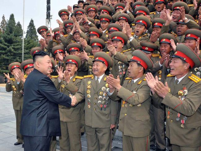 Kim Jong-un was a gifted sailor. Picture: AFP
