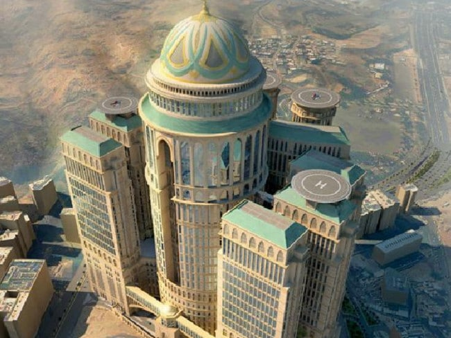 With 10,000 rooms, it will be the largest hotel in the world. Picture: Dar Al-Handasah
