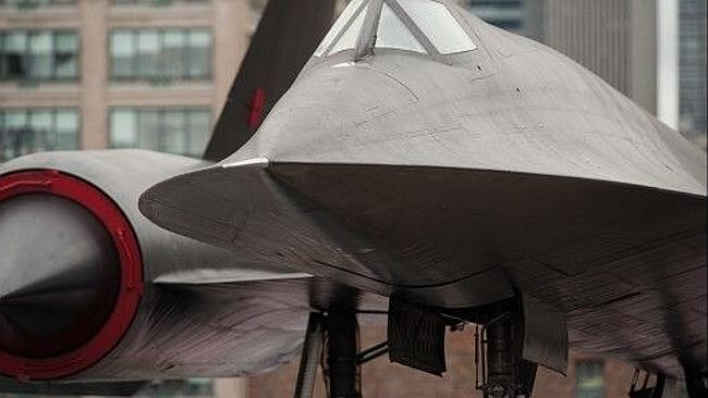 Retired ... the SR-71 Blackbird of 1960s vintage was taken out of service during the 1990s.