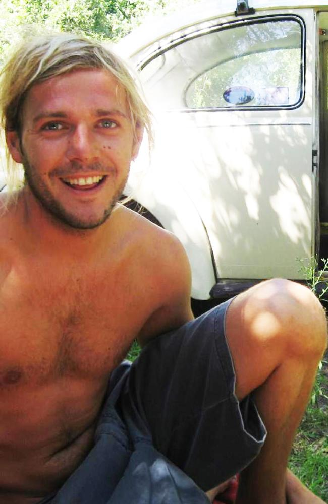 Toby Moran (above) now lives in a Perth beachside suburb and surfs at exotic beachside locations.