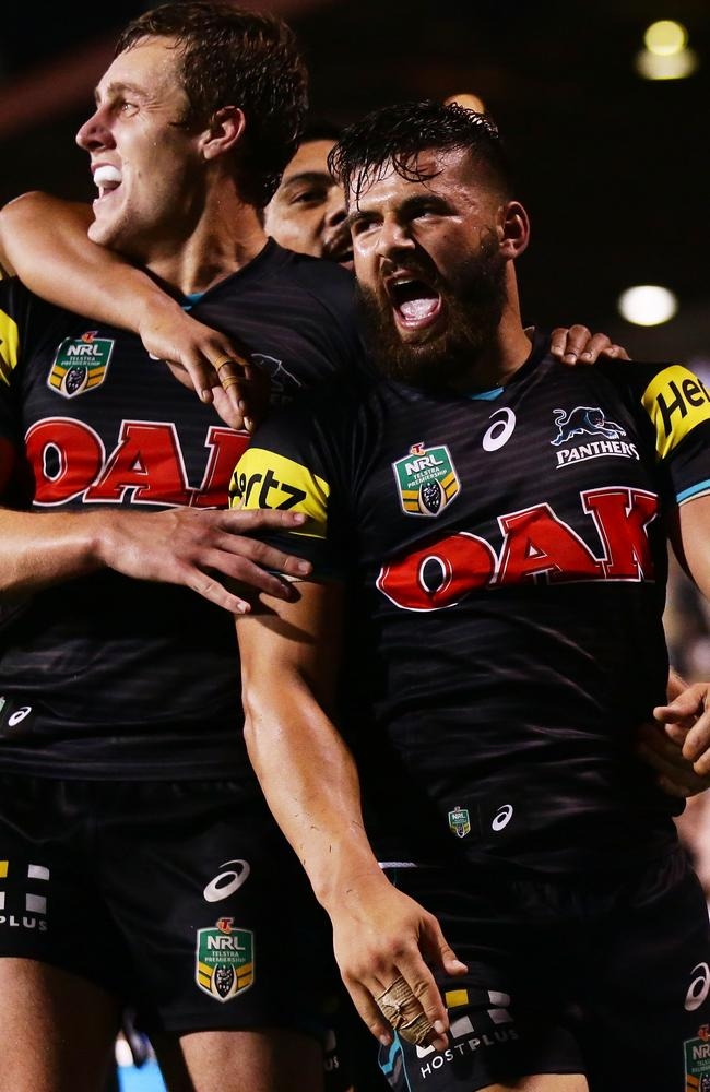 Josh Mansour's club form has him pushing for a NSW State of Origin jersey.