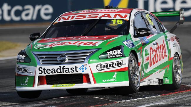 Nissan is pulling out of V8 Supercars after just two wins in five years. Photo by Daniel Kalisz/Getty Images.