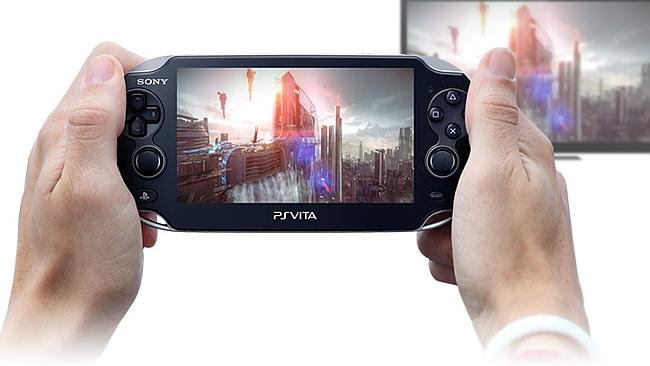 The PS4 will stream games to the PS Vita handheld console. Source: supplied