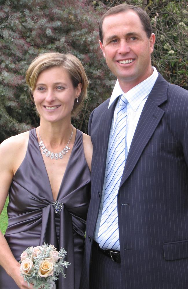 Geoff devoted himself to helping his wife Kim recover after a 2012 car accident left her with a serious brain injury