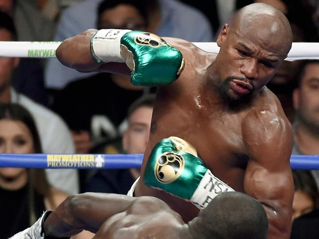 Floyd Mayweather Jr: Unbeaten and untouched in 49 fights.