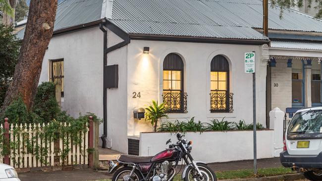 24 Elliot Street, Balmain sold for $1.15 million, $88,000 over reserve. Source: supplied.