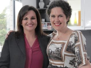 Senator Jacqui Lambie with Kitchen Cabinet host Annabel Crabb. Picture: Supplied/ABC.