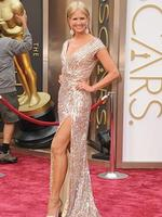 Nancy O'Dell on the red carpet at the Oscars 2014. Picture: Getty