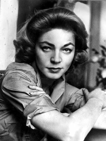 Lauren Bacall in 1959. Picture: Supplied