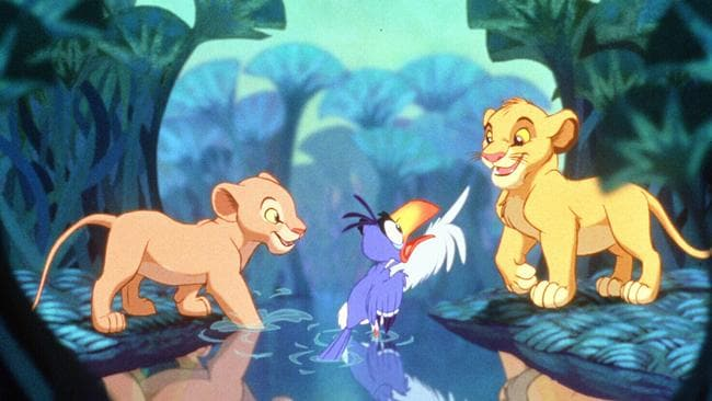 The Lion King, quite literally a homemade film.