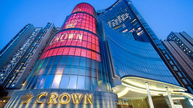 Crown Macau casino in Macau, owned by James Packer's joint venture Melco PBL.