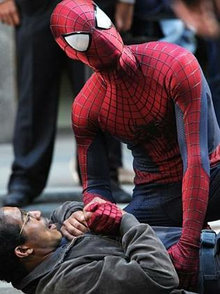 The Amazing spiderman 2 is out in April.
