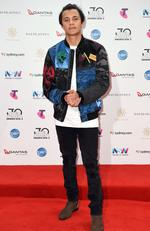 Tyrone Georgiadis arrives on the red carpet for the 30th Annual ARIA Awards 2016 at The Star on November 23, 2016 in Sydney, Australia. Picture: AAP