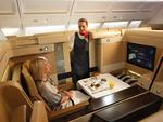 Etihad's first class / supplied