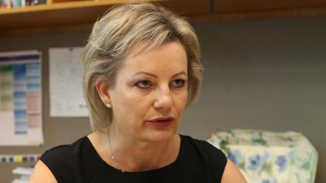 Changing the rules ... Health Minister Sussan Ley says people must pay to see a doctor to show they value the service. Picture: Gary Ramage.