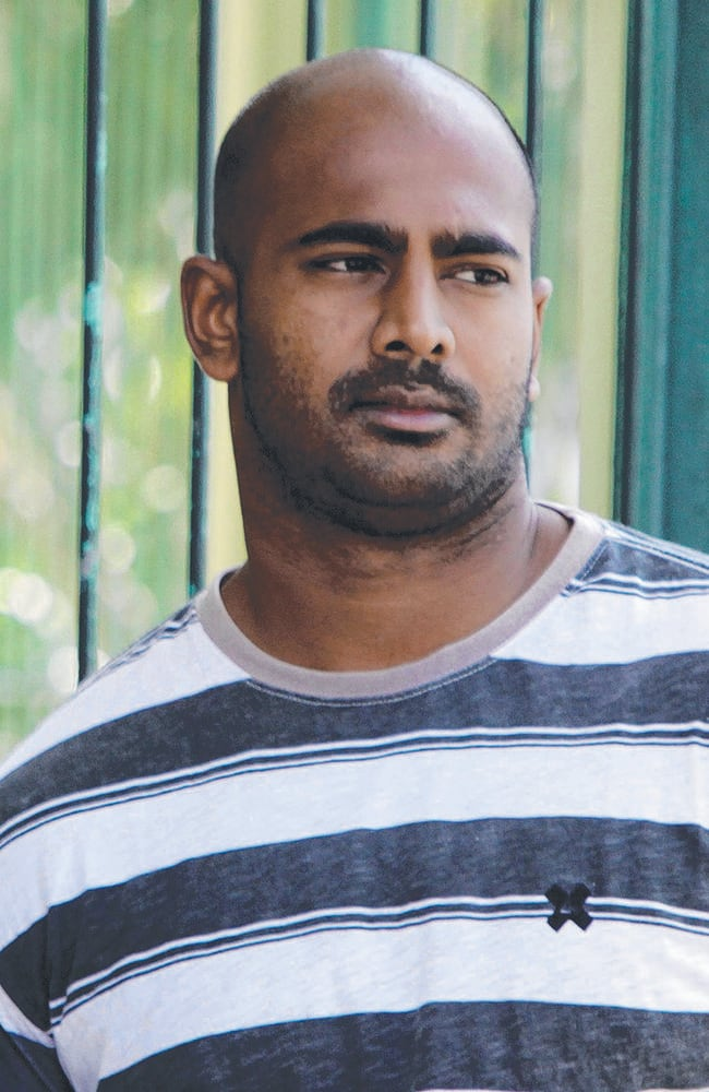 Forgave killers ... Myuran Sukumaran smiled and offered forgiveness to his executioners in his final moments. Picture: Firdia Lisnawati/AP