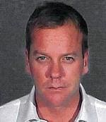 <p>Actor Kiefer Sutherland is pictured in this police booking photograph released by the Glendale California Police Department December 5, 2007. Sutherland was released on January 21, 2008 from a Southern California jail, where he served 48 days for drunk driving and violating probation. Picture: REUTERS/Glendale California Police Department</p>