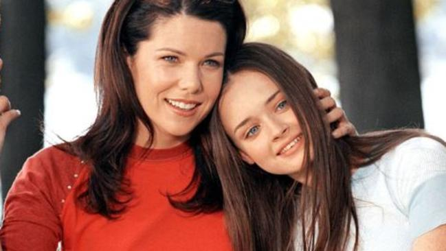 Supplied Editorial Gilmore Girls stars Lauren Graham and Alexis Bledel.