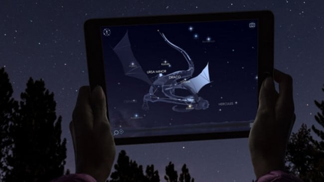 With Star Walk 2 you can point and learn.