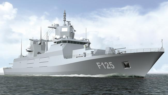 OPTION 3: Blohm and Voss Class125 frigate