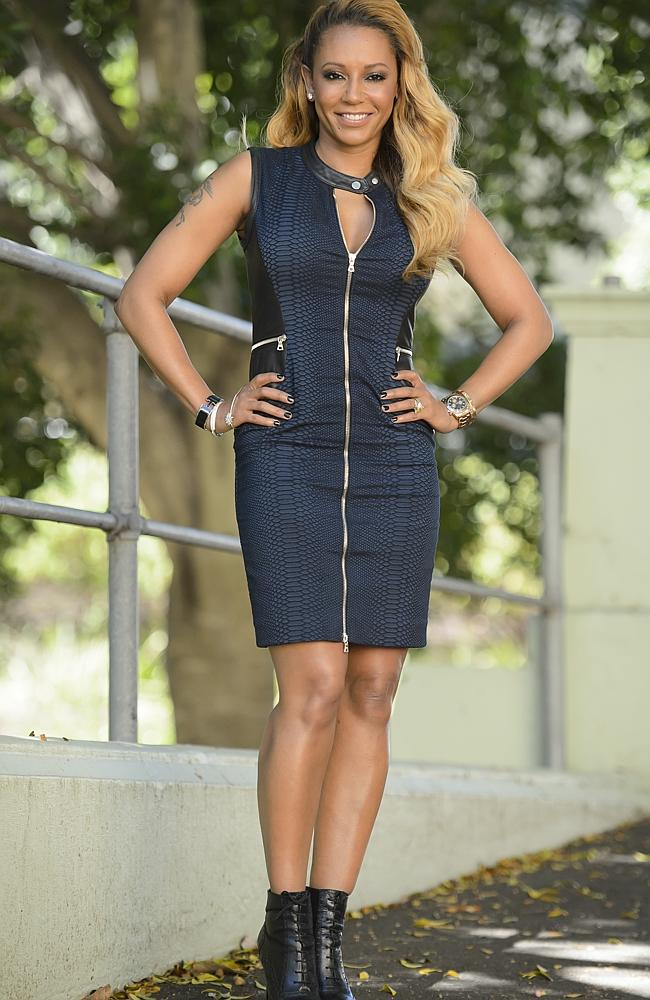 Mel B joined Jenny Craig in 2011. Supplied by Nine.