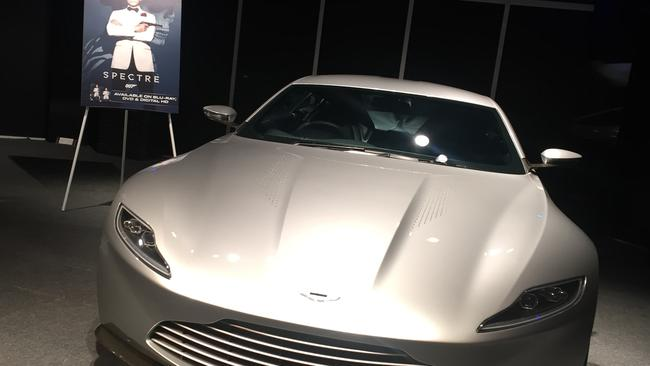 Yum. Simply, Yum. The Aston Martin DB10 as featured in Spectre.