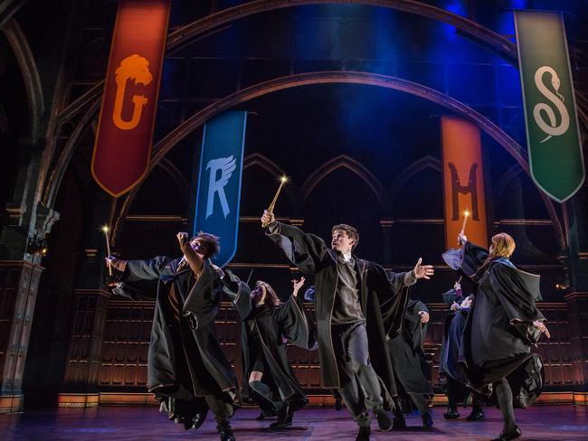 The epic Harry Potter and the Cursed Child has taken Broadway by storm. Picture: Matthew Murphy/Boneau/Bryan-Brown via AP