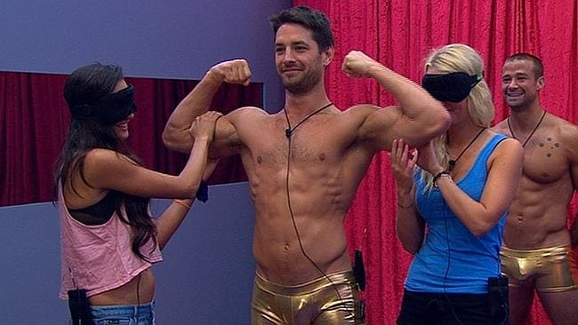 Big Brother's producers found a multitude of ways to show off Ed's body this season.