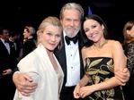 Susan Geston,Jeff Bridges and Julia Louis-Dreyfus attend The 23rd Annual Screen Actors Guild Awards Cocktail Reception at The Shrine Auditorium on January 29, 2017 in Los Angeles, California. Picture: Getty