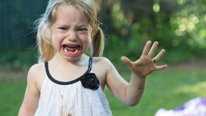A spitting, growling, screaming four-year-old is no person's idea of good company. But when that child is yours, how do you put your feelings aside and properly parent? (Pic: iStock)