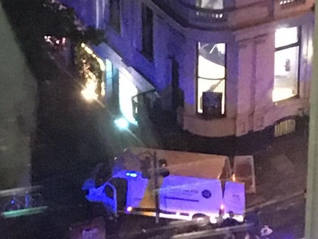 """London Bridge Terrorist attack where reports of a car driving into a group of people have emerged. Source: Twitter/ Amichai Stein/ Caption: #BREAKING: """"All leads and informations suggest #Londonbridge incident is a terror attack"""" - @SkyNewsBreak pic.twitter.com/PgzLnT2CdC"""