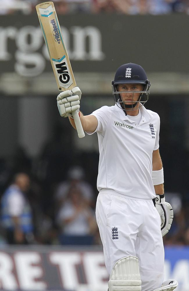 Joe Root's performance with the bat before his soft dismissal was the sole glimmer of hope for England.