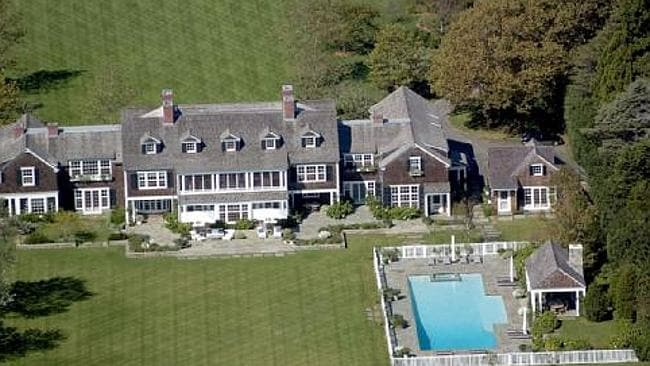 Jerry Seinfeld recently added a new guesthouse to his East Hampton oceanfront property which also has a baseball diamond. Picture: Supplied.
