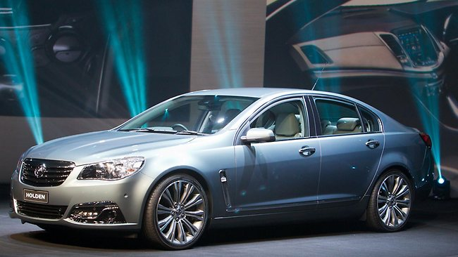 Unveiling of the new Holden VF Commodore in Melbourne. Picture: Chris Scott