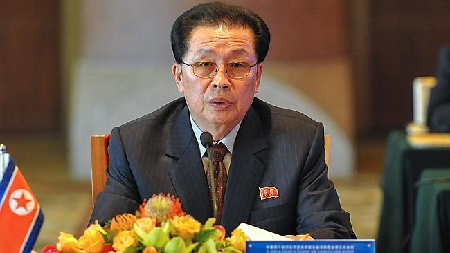 In this Aug. 14, 2012 file photo, Jang Song Thaek, then North Korea's vice chairman of the powerful National Defense Commissi...