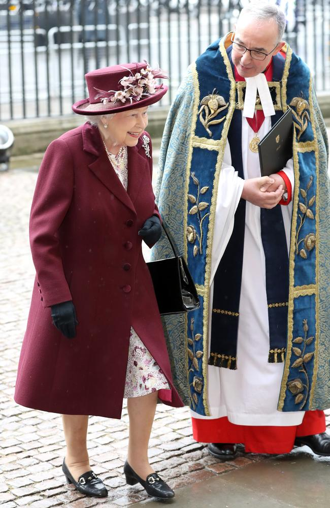 The Queen was in fine fettle at the 2018 Commonwealth Day service at Westminster Abbey. Picture: Chris Jackson/Chris Jackson/Getty Images