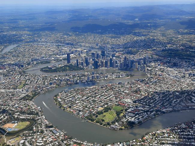 Areas of inner city Brisbane have an oversupply of properties. Picture: Dave Hunt/AAP
