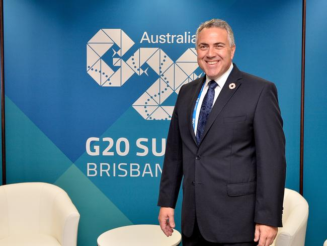 Will deliver...Joe Hockey said there will be pressure on leaders to deliver on their promises to boost economic growth. Picture: Bradley Kanaris/Getty Images