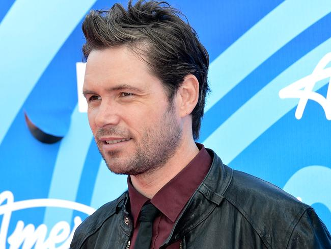 Johns attends the  <i>American Idol </i>2013 finale. Picture: Getty