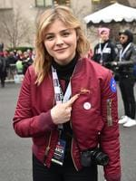 WASHINGTON, DC - JANUARY 21: Chloe Grace Moretz attends the Women's March on Washington on January 21, 2017 in Washington, DC. (Photo by Theo Wargo/Getty Images)