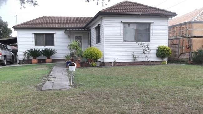 A POPULAR CHOICE: More than 70 people gathered for the weekend auction of 6 Haven Street, Merrylands.